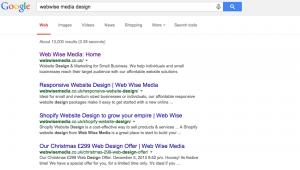 Google Screen Shot - Webwise