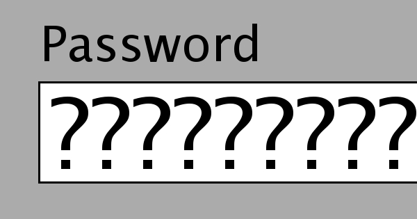 How to Pick a Password