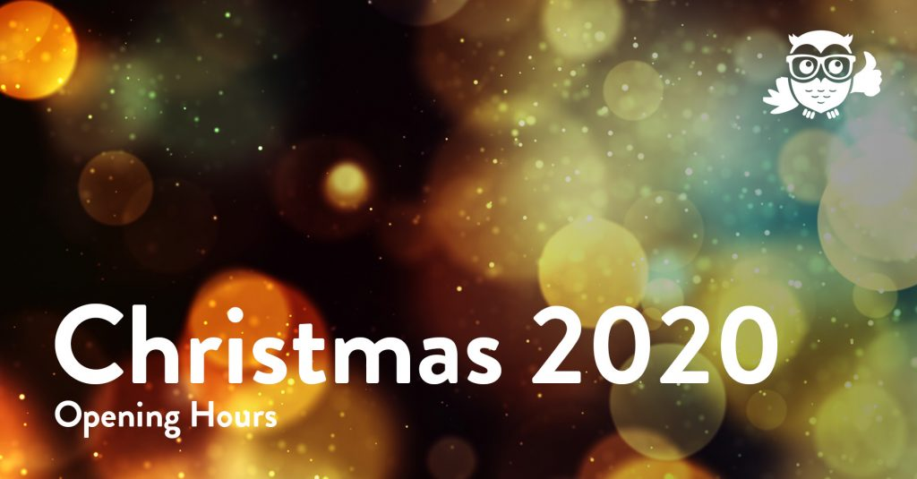 Web Wise Christmas 2020 Opening Hours