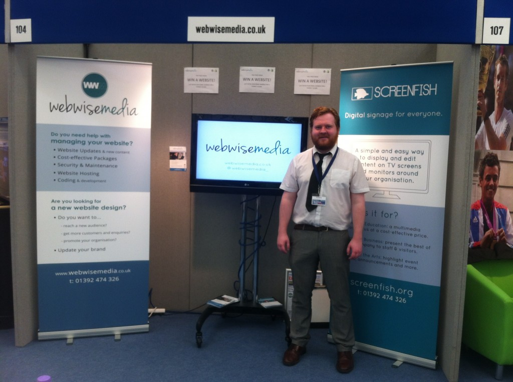 Webwise at the Devon Business Expo