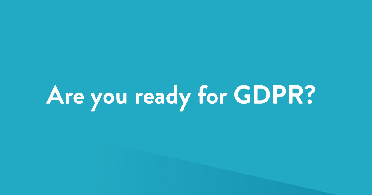 how to get ready for GDPR