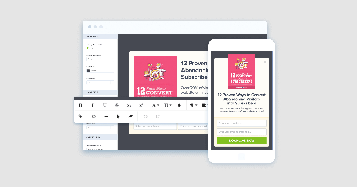 Opt-In Monster - Pop Up Banners