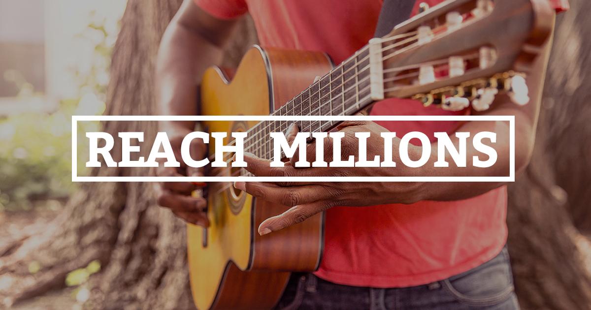 reach millions