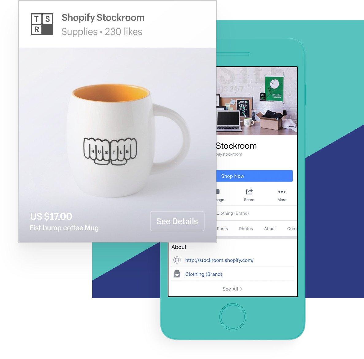 Shopify for facebook